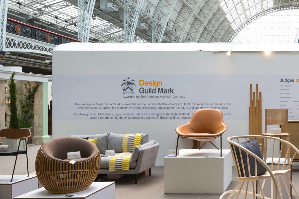 Furniture Design Exhibition London cross leg chair at house, london olympia | magnus long design studio