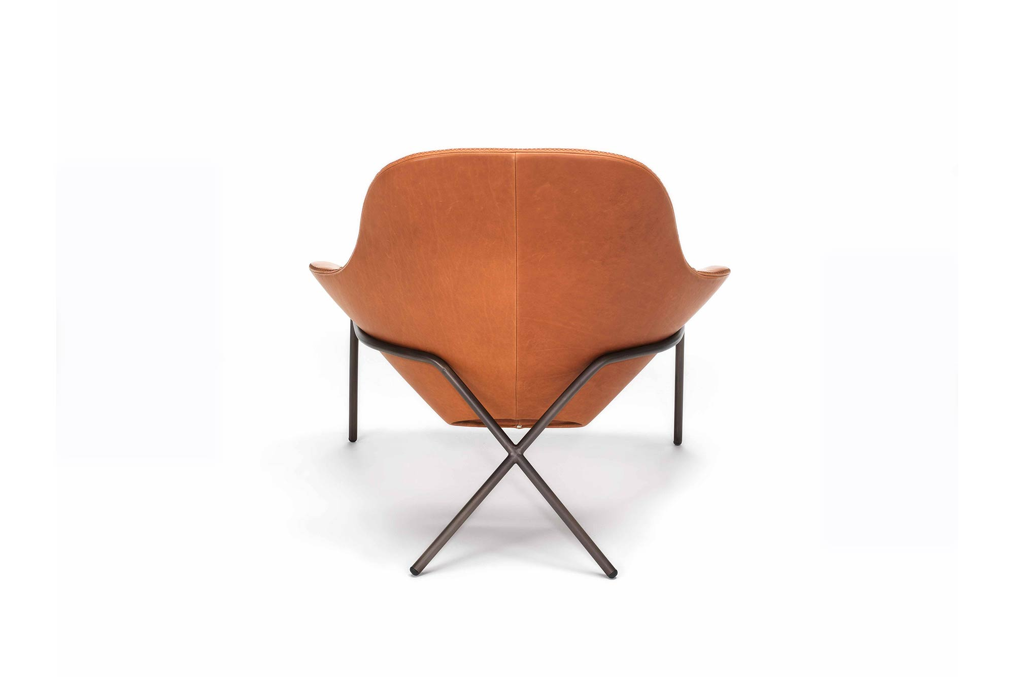Cross Leg Lounge Chair Launched